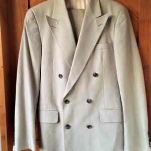 1980's Vintage Men's 2 pc Calvin Klein Suit
